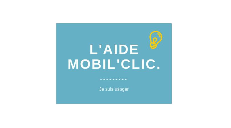 Utiliser Mobil'clic sur un smartphone ou une tablette